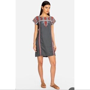 Johnny Was Ezra Shift Tunic Dress in Voltage!